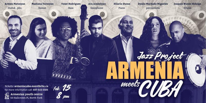 Jazz Project Armenia Meets Cuba